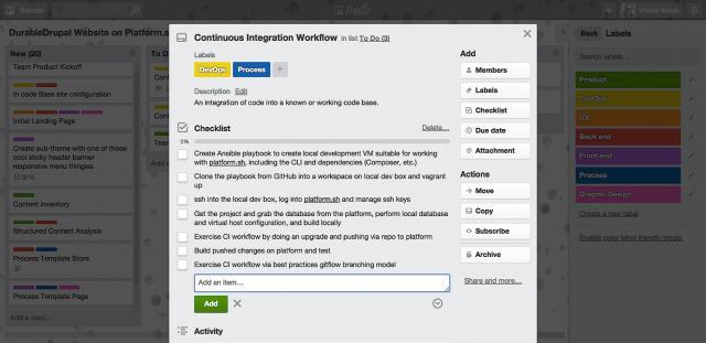 Continuous Integration Tasks